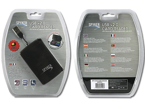 HE623B USB 2.0 CARD READER