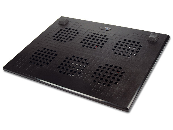 3 FANS NOTEBOOK COOLER PAD WITH 4-PORT USB v2.0 HUB