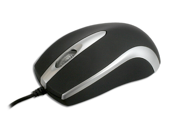 BD-2278-BK-SIL USB OPTICAL MOUSE