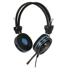 STEREO HEADSET WITH DETACHABLE MICROPHONE