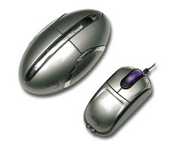 DUAL PURPOSE FOR REGULAR AND MINI OPTICAL MOUSE