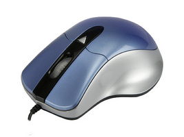 2388-BL-SIL USB OPTICAL MOUSE