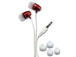 AL151-RED STEREO IN-EAR EARPHONE