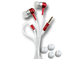 AL15-RED STEREO IN-EAR EARPHONE